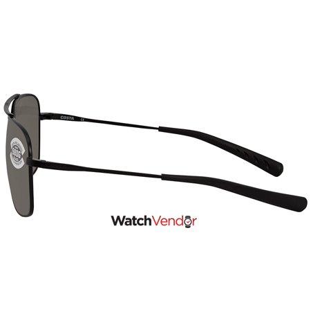 e912f83a8f0e Costa Del Mar Grey 580G Aviator Sunglasses CAN 101 OGGLP - image 1 of 3 ...