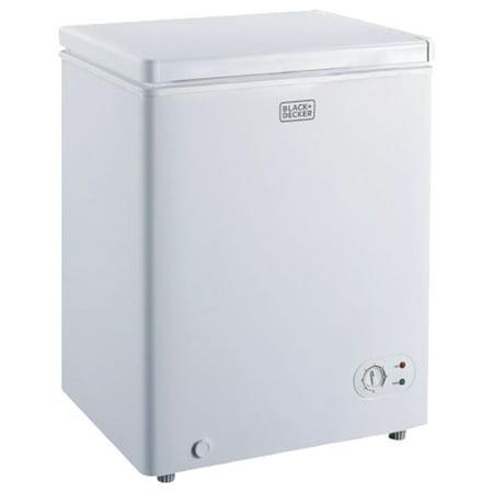 BLACK+DECKER BCFK35W 3.5 Cubic-ft Chest Freezer