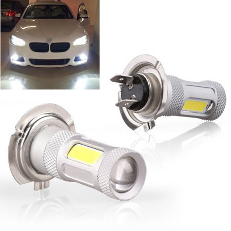 H7 80W High Power COB Light Bulb LED High Power DRL Fog Light Head Bulb Lamp Xenon White (Best H7 Bulbs Uk)