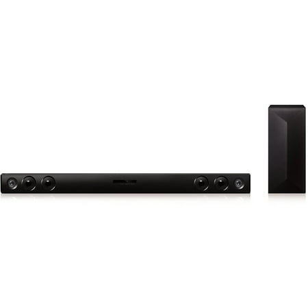 LG LAS465B 2.1-Channel 300W Soundbar with Wireless Subwoofer