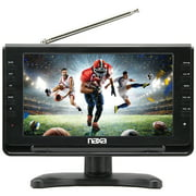 "Naxa NT-110 10"" LCD TV - HDTV - Shiny Black"