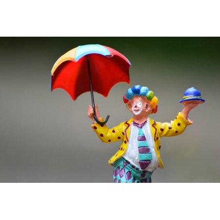 Canvas Print Joker Screen Decoration Fig Clown Cute Funny Stretched Canvas 10 x 14](Joker Decorations)