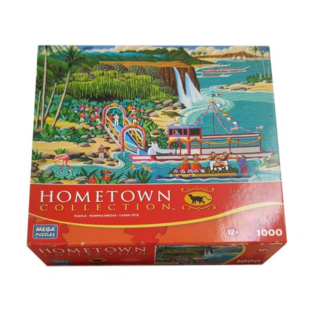 (Hometown Collection: Fern Grotto Wedding 1000 Piece Puzzle)