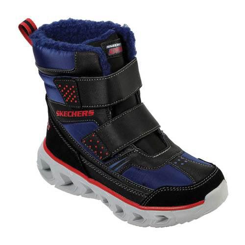 Skechers Boys' Skechers S Lights Hypno Flash 2.0 Street Breeze Boot