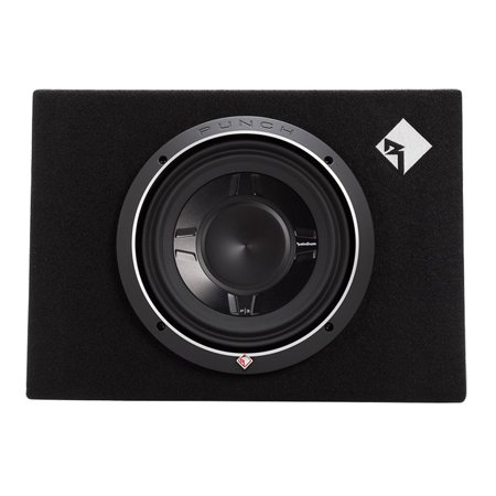 Rockford Fosgate 600W Punch Single P3 10 Inch Shallow Loaded Subwoofer  Enclosure