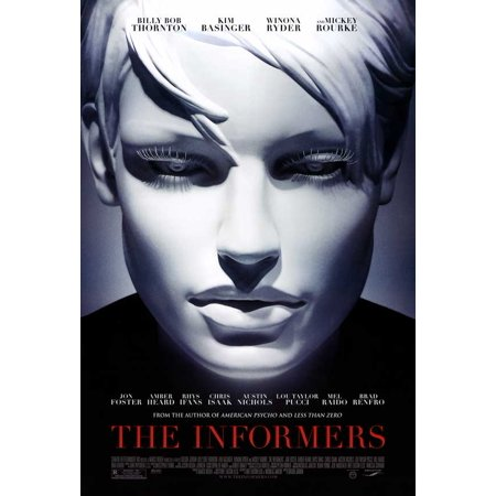The Informers Poster Movie  27X40