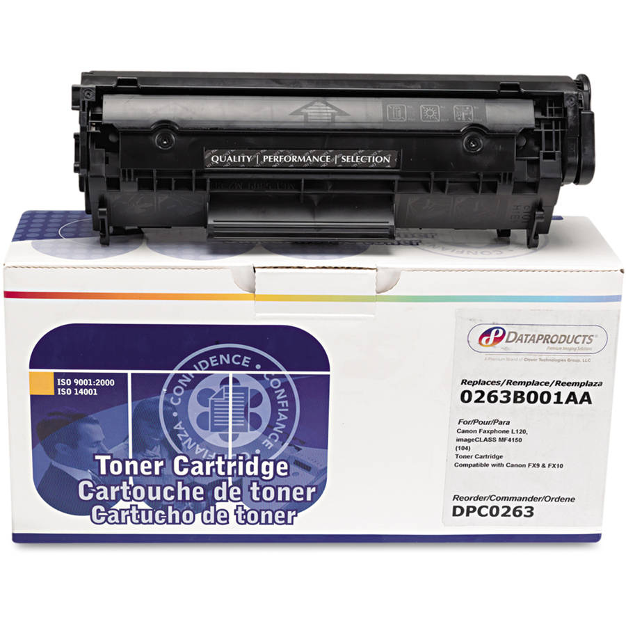 Dataproducts Remanufactured 0263B001AA (104) Black Toner Cartridge
