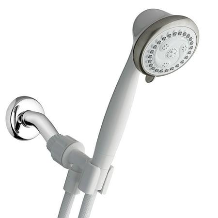 Waterpik 6-Mode EcoFlow Hand Held Shower Head, White EFN-651N ...