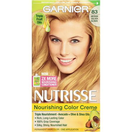 Garnier Nutrisse Nourishing Color Creme, 83 Medium Golden ... - photo #25
