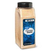 Great Value Granulated Garlic, 26 oz