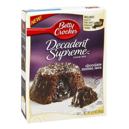 Chocolate Molten Lava Cake Walmart