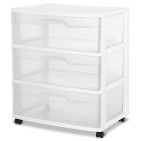 Home Bedroom Plastic Cosmetic Drawer Storage Box Container 2