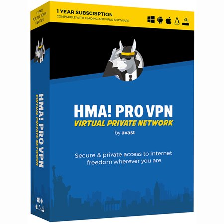 Avast HMA PRO VPN 2018, 1 Year