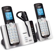 Cordless phones walmart vtech ds6671 3 dect 60 expandable cordless phone with bluetooth connect to cell and answering sciox Images