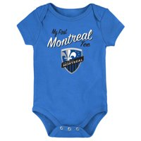 Montreal Impact Newborn & Infant My New First Bodysuit - Blue