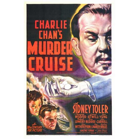 Charlie Chan's Murder Cruise POSTER Movie Mini Promo