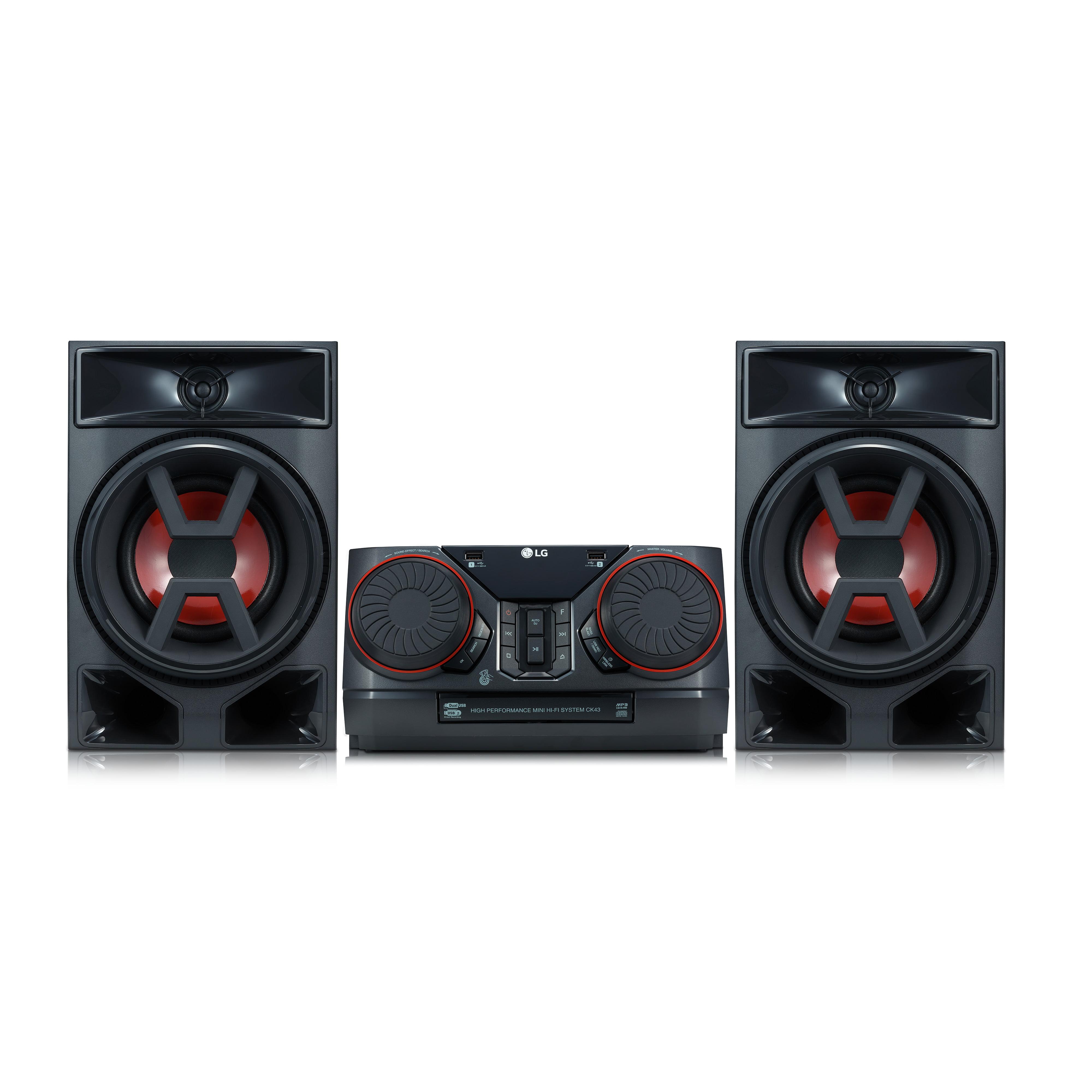 LG XBOOM 300W Hi-Fi Shelf System - CK43