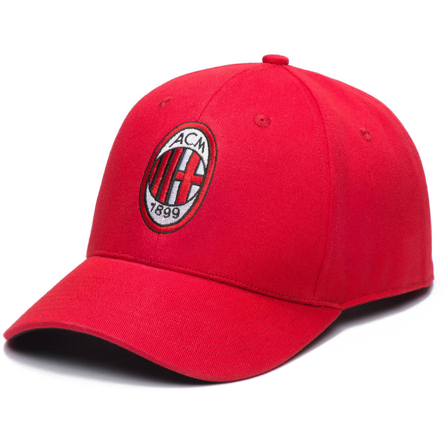 Image of AC Milan 6 Panel Adjustable Snapback Hat