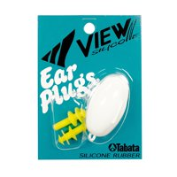 Ear Plugs, Yellow, Hard Carrying Case By View Swimming Gear