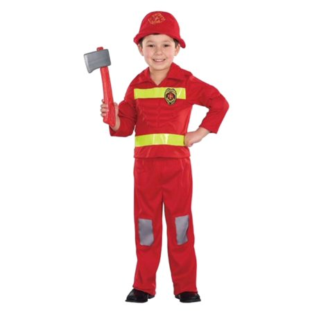 Totally Ghoul Infant & Toddler Boys Fireman Halloween Muscle Costume - Toddler Fireman Halloween Costume