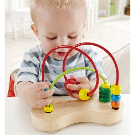 Hape - E1801 | Double Bubble Wooden Bead Maze - image 4 of 5