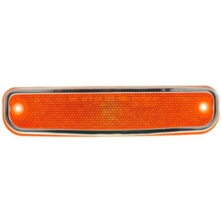 - Compatible 1973 - 1974 Chevrolet C20 Pickup Side Marker Light Assembly / Lens Cover - Front Left (Driver) Side 6270434 GM2550108 Replacement For Chevrolet C20 Pickup