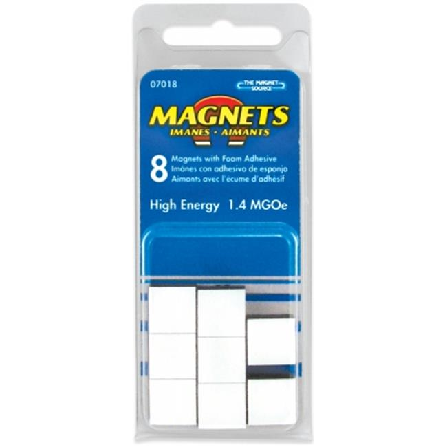 Master Magnetics Inc 07018 8 Count .5 in. X .19 in. High Energy Flexible Magnets