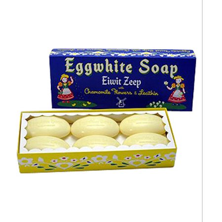 Eiwit Zeep Eggwhite and Chamomile Flower Facial Soap - 6 Bar Gift (Acca Gift Set Soap)