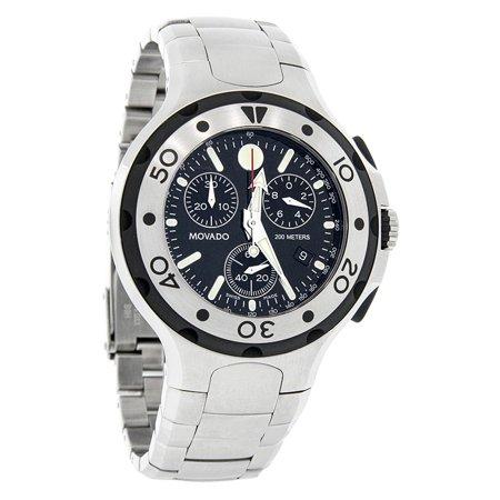 Series 800 Mens Black Dial Swiss Quartz Chronograph Watch
