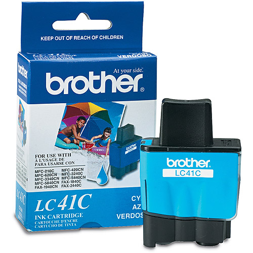 Brother LC41 Ink, 400 Page-Yield