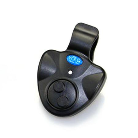 Fishing Bite Alarm, Best Seneitive Electronic Indicator LED Sound Alert On Fishing Rod with Loud Siren Daytime/Night Carp Fishing