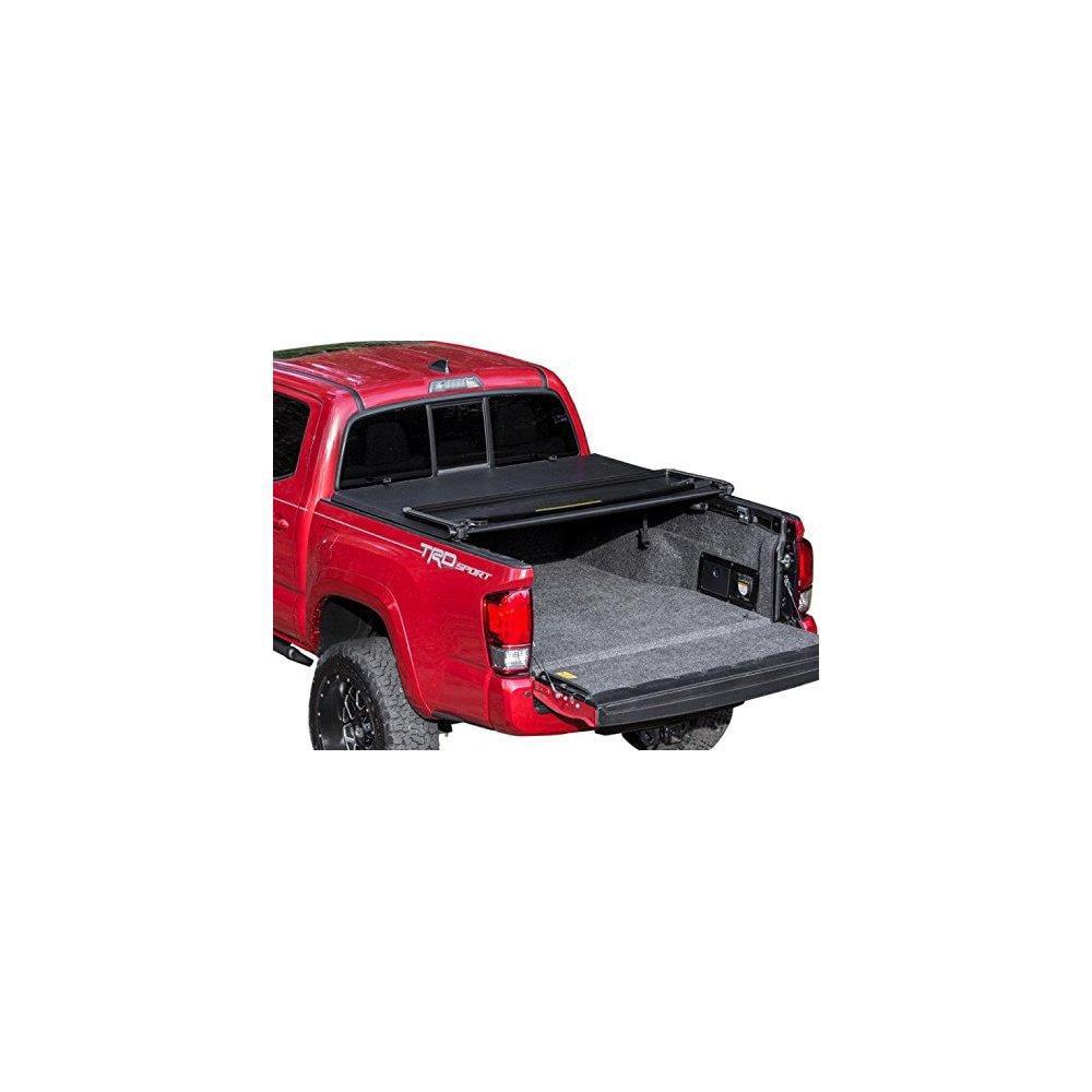 Leer Toyota Tacoma: Gator Tri-fold Tonneau Truck Bed Cover Toyota Tacoma 2005
