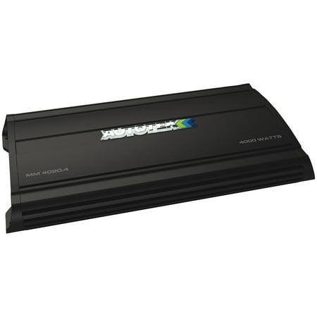 Autotek MM4020.1D The Mean Machine Subwoofer Monoblock Class D Amp (4,000 - Black Monoblock