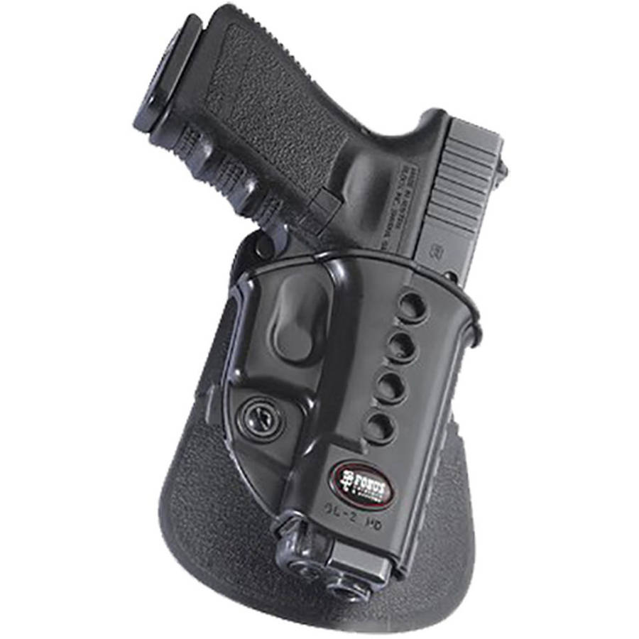 Fobus GL2ERB Roto Belt Holster, Black, Plastic by FOBUS USA