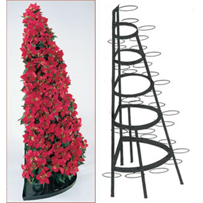 Creative Display Rack 104 5 ft. Half Round Tree