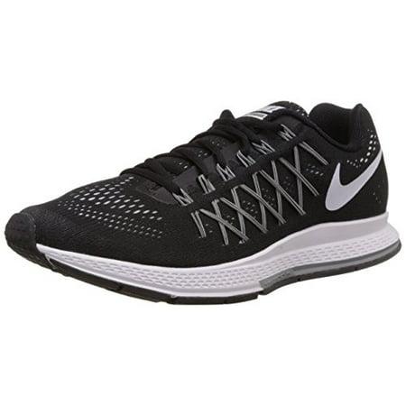 new style 6bb1c 4e8c5 Nike Air Zoom Pegasus 32 Running Shoe - Men s Black Dark Grey Pure Platinum