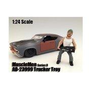 American Diorama 23999 Musclemen Trucker Troy Figure for 1-24 Scale Models