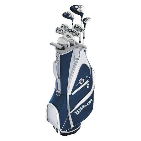 Womens Left Handed Golf Clubs >> Wilson Women Profile Xd Golf Complete Set Cart Left Hand