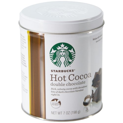 Starbucks Holiday Double Chocolate Hot Cocoa Mix, 7 oz