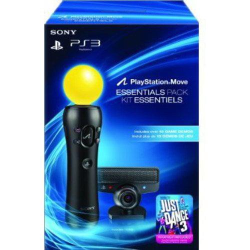 PS Move Essentials Just Dance 3 Bundle + Demo Disc (PS3)