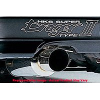 HKS 3302-EX077 Drager II Exhaust, Rear Section ONLY Fits:LEXUS | |2001 - 2005 I