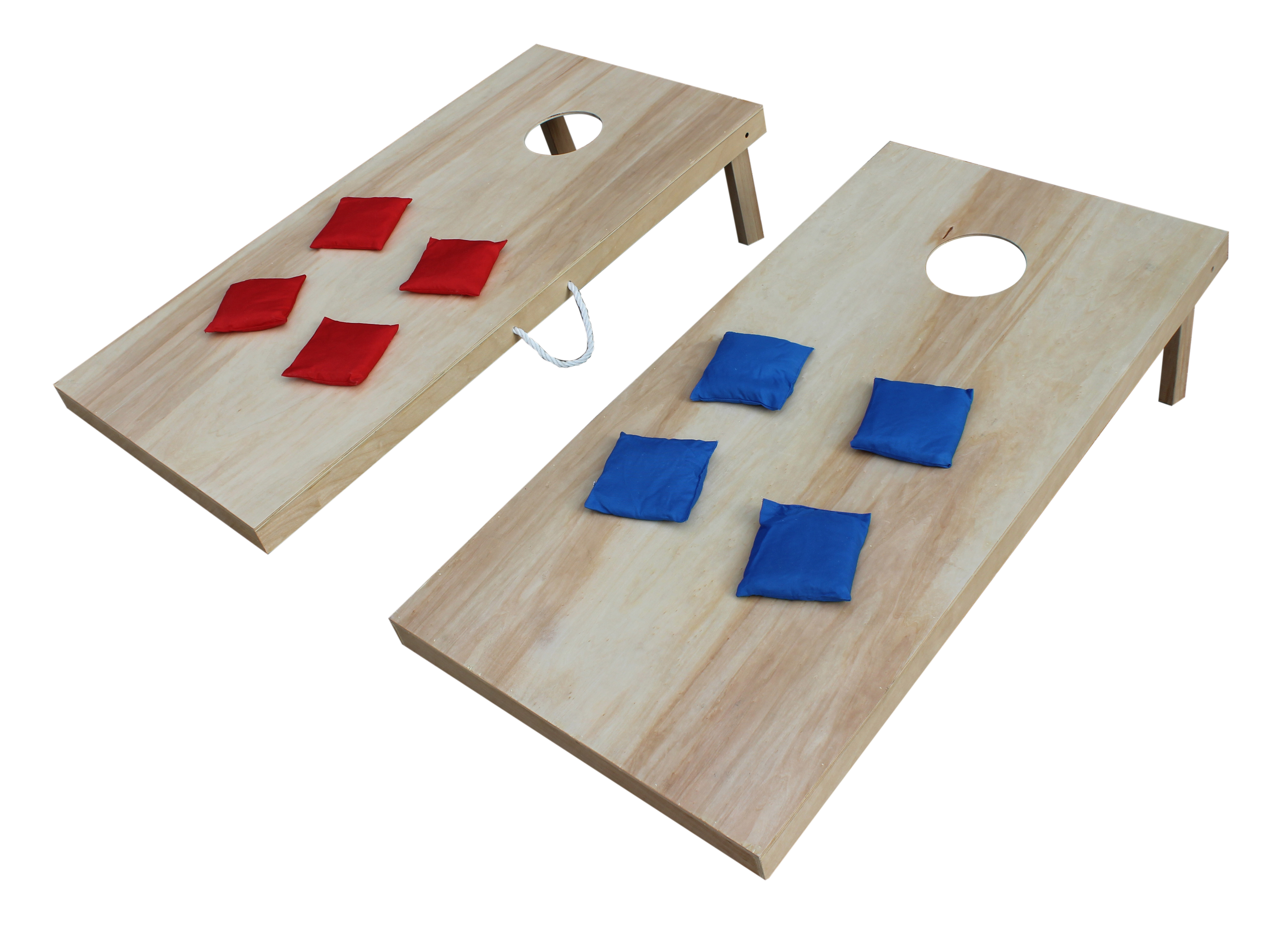 Click here to buy Triumph 2' x 4' �Woodie� Tournament Cornhole Beanbag Toss Set by Triumph.