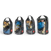 OmniCore Designs Peak-A-Boo Floating Rolltop Waterproof Dry Bag 4-Pc Value Bundle (10L, 20L, 30L, 40L)
