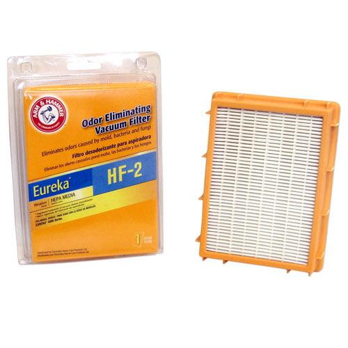 Arm & Hammer Odor Eliminating Vacuum Filters, Eureka ™ HF-2 with HEPA