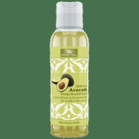 Beauty Oil Avocado - Beauty Aura Avocado Oil 4 Oz