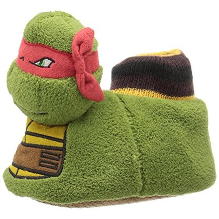 Nickelodeon Boys Ninja Turtle Polyester Novelty Slippers for $<!---->