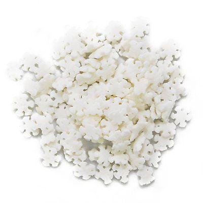 Snowflakes Edible Sprinkles - 2.6 - Snowflake Sprinkles
