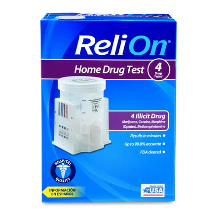 Relion home drug test 4 drugs tested walmart relion home drug test 4 drugs tested solutioingenieria Images