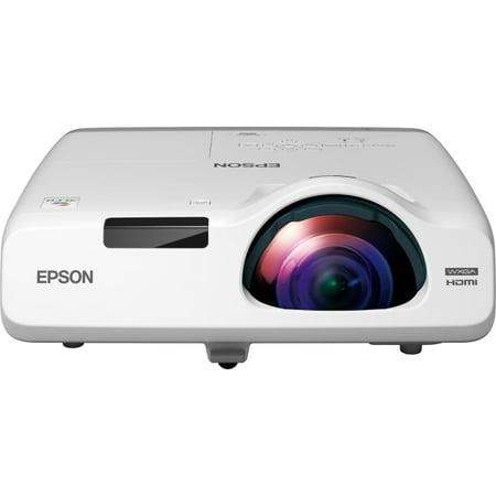 Epson V11H671020 Epson PowerLite 535W LCD Projector - 720p - HDTV - 16:10 - Front, Rear, Ceiling1.6 - UHE - 215 W - NTSC, PAL, SECAM - 5000 Hour - 10000 Hour - 1280 x 800 - WXGA -
