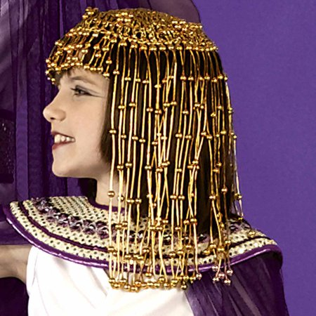 Cleopatra Headpiece Child Halloween Costume Accessory - Headpiece Halloween Costumes Accessories
